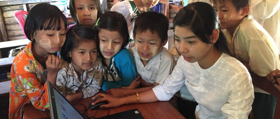 Collaborate, share and take action to help provide global access to education